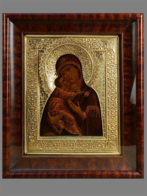 Антиквариат. Икона «Пресвятая Богородица Владимирская»