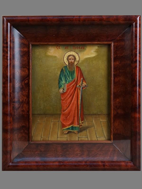 Антиквариат. Икона «Святой Апостол Павел»