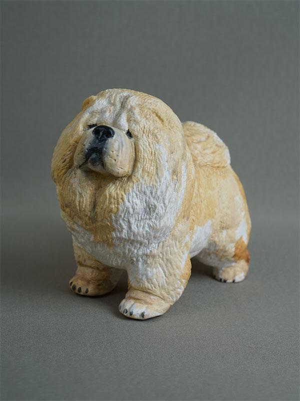 Антиквариат. «собака Чау-Чау», В.Губина