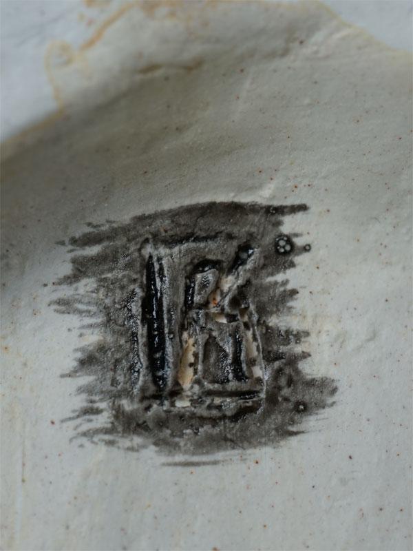 «Грустная такса», фаянс, роспись, автор В.Губина, длина— 12см