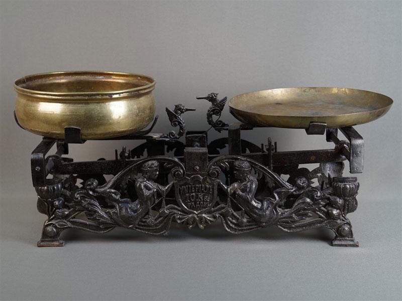 Весы, чугун, 1912год, длина— 55см