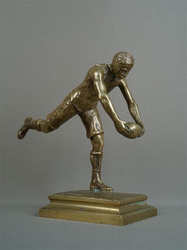 Антиквариат. «Регбист» регби спорт спортсмен