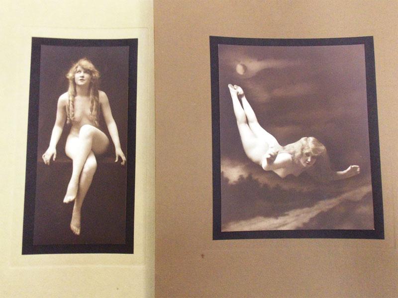 Nu. Художественная авторская фотография, 1928-30годы, 20×10см; 15×18см. Паспарту, врамах подстеклом. Цена за два лота.