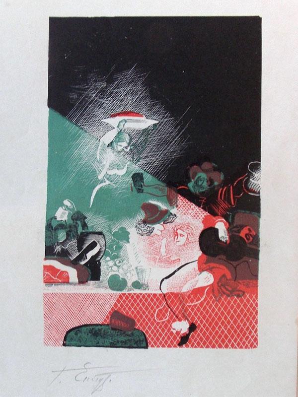 Антиквариат. Епифанов, Г. Иллюстрация. Сервантес цинкография