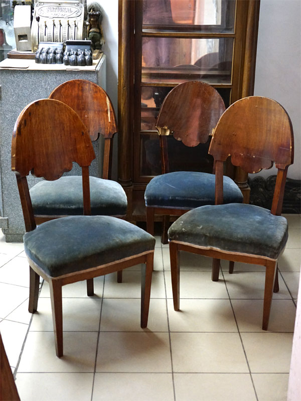 Антиквариат. стулья стул, красное дерево ампир