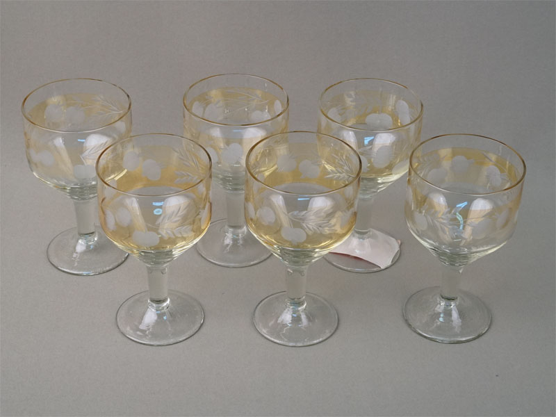 Антиквариат. бокал, стекло
