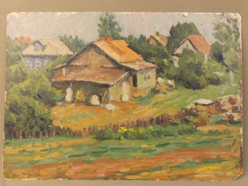 Антиквариат. Синицын, А.В., Дача Горки пейзаж
