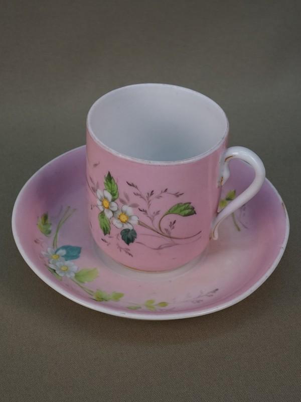Антиквариат. Чайная чашка, фарфор Гарднер