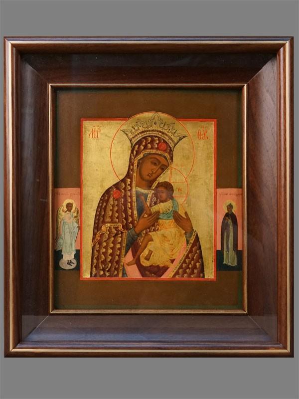 Антиквариат. Икона Пресвятая Богородица О Всепетая Мати