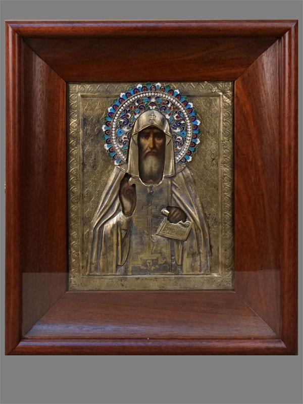 Антиквариат. Икона Макарий Унежский Желтоводский