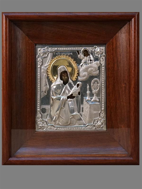 Антиквариат. Икона Святой Преподобный Стилиан Пафлагонийский