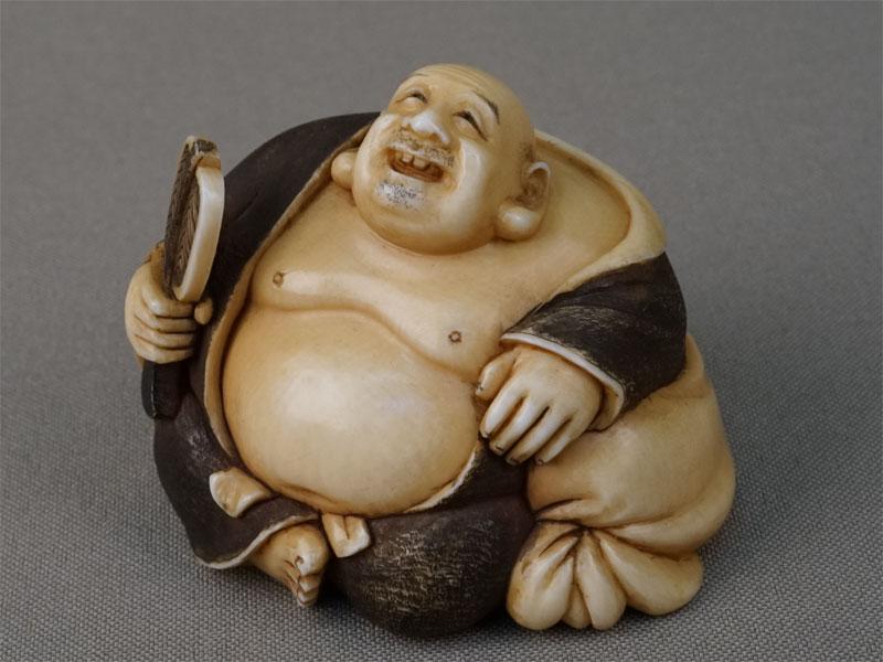 Антиквариат. Окимоно Хотэй. боги счастья. семь богов счастья