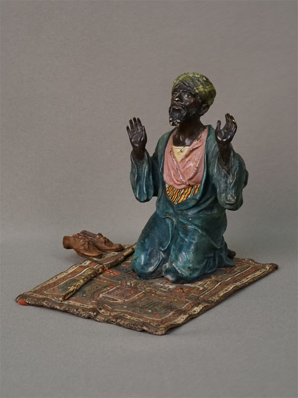 Антиквариат. «Намаз», венская бронза араб ислам