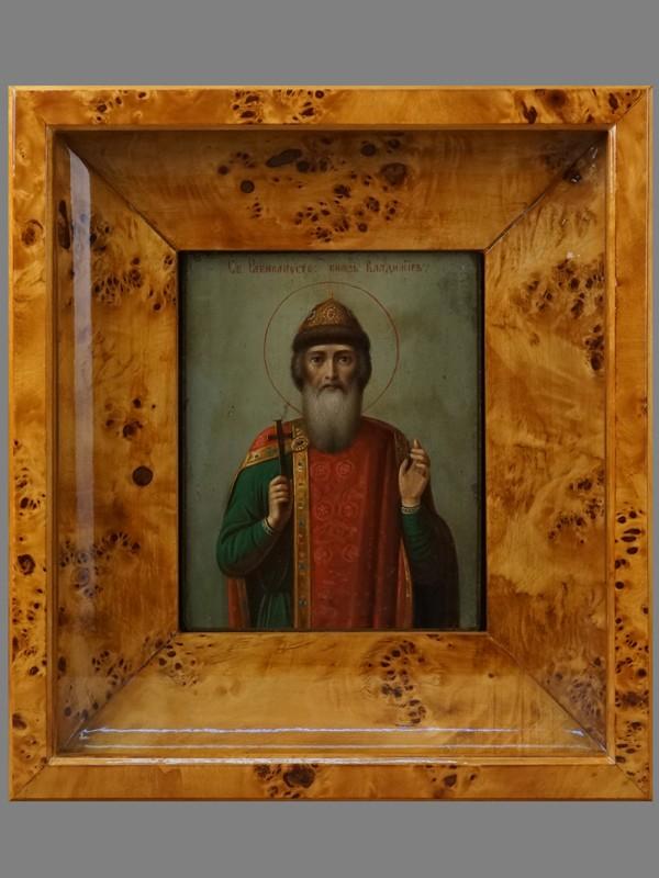 Антиквариат. Икона Святой Равноапостольный князь Владимир
