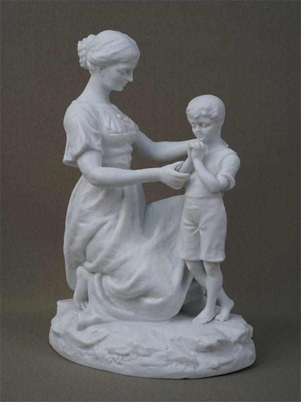 Антиквариат. Материнство. молитва, бисквит