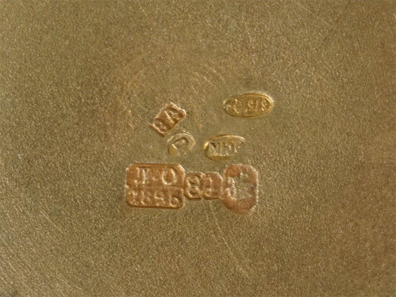 Солонка, серебро 84пробы, скань, эмаль, золочение, общий вес— 71,62г. Москва, 1896год, диаметр— 6см