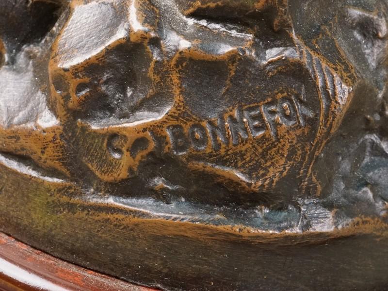 «Юный рыбак», шпиатр, камень, начало XXвека, высота— 45см