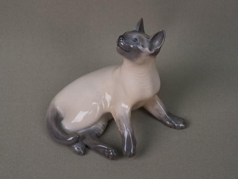 Антиквариат. Сиамская кошка Копенгаген. кот