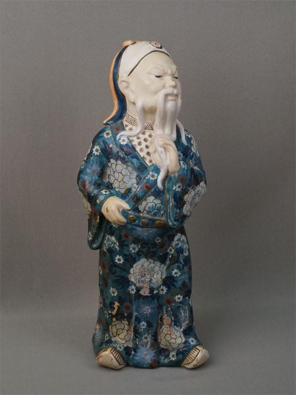 Антиквариат. мудрец старец Конфуций. Лао-Цзы, Китай