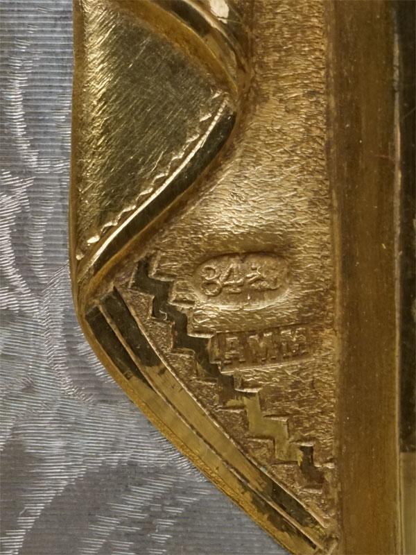 Икона «Троица Новозаветная», дерево, масло; оклад серебро 84пробы, золочение, эмаль. Москва, Хлебников, 1895год,  31,5×27см; киот