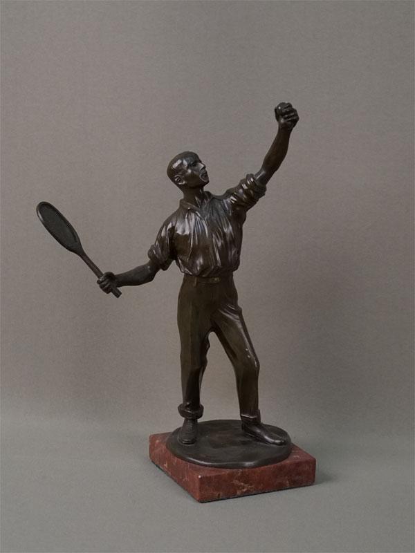 Антиквариат. Теннисист. спорт теннис