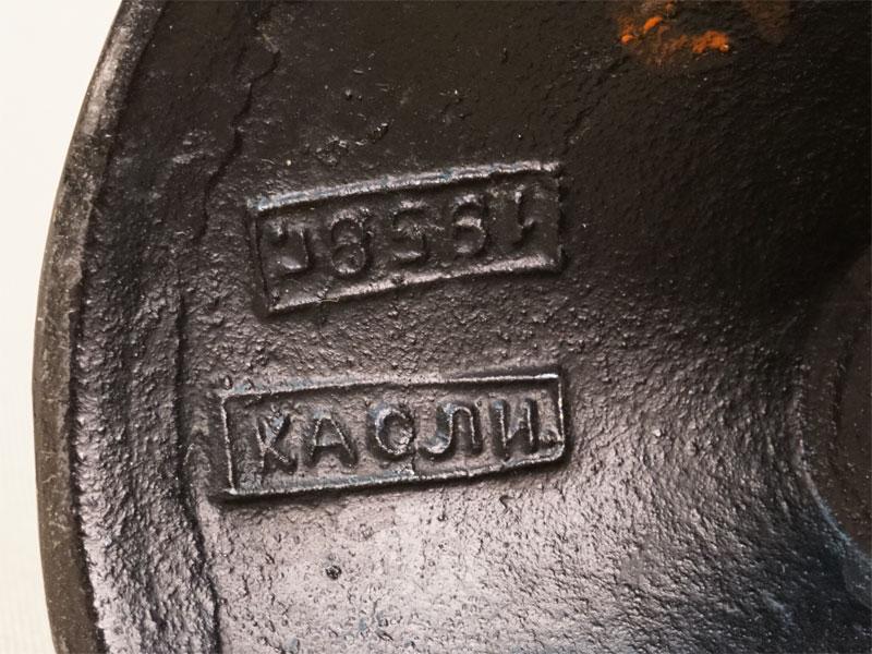 «Дон Кихот», чугун, литье, покраска, высота 20см. Касли, 1958 год
