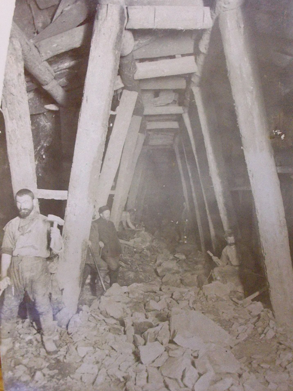 Антиквариат. Сурамский тоннель Лихский горный хребет. Кавказ. железная дорога