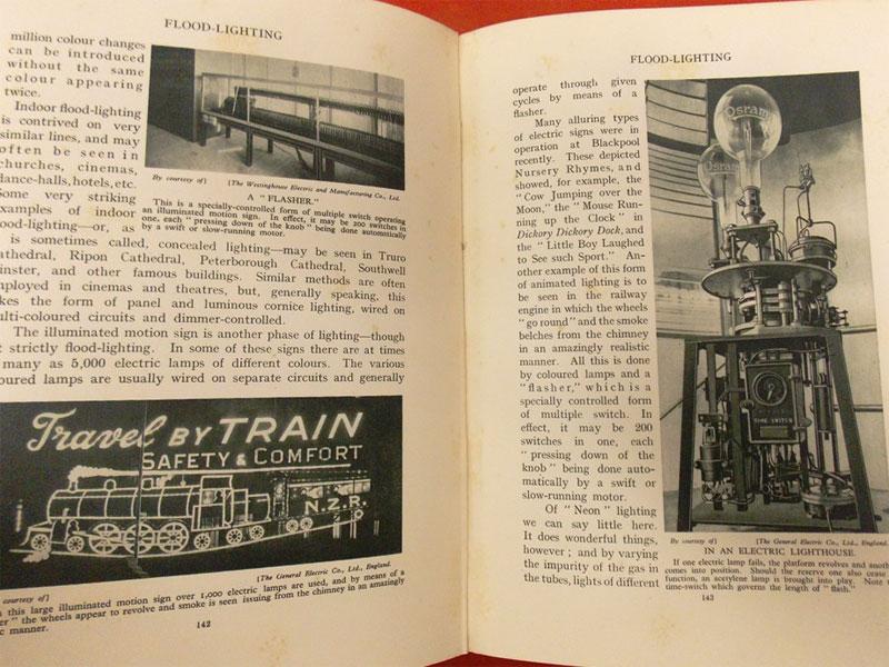 Чудеса Электричества / The Wonder Book of  Electricity by Harry Golding  and various — London: Ward, Lock & Co., 1933. — 256 с. <i></noscript>Цветной фронтиспис, монохромные иллюстрации. Твердый переплет в суперобложке. Подарочное издание.</i>
