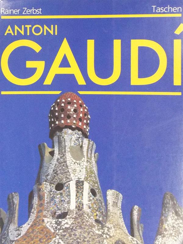 Райнер Цербст. Гауди. Жизнь, посвященная архитектуре / Reiner Zebst. Antoni Gaudi. – Gamb H, Benedikt Tascher Verlag, 1993. – 238 с. <i>Переплет. </i>