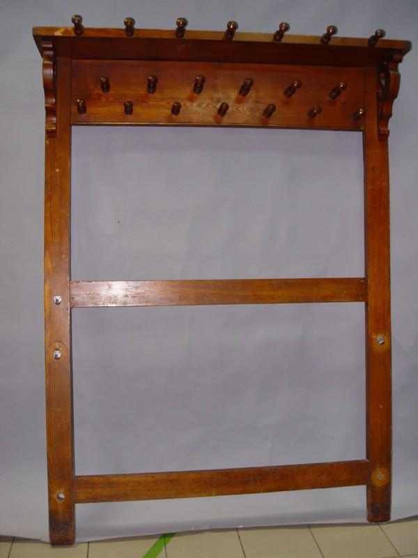 Вешалка напольная, массив ясеня, конец XIX века, 200 × 134см