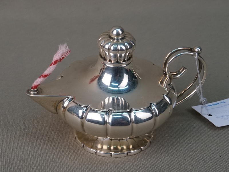 Ароматница, серебро по реактиву, общий вес 71,3г., высота 7,5см