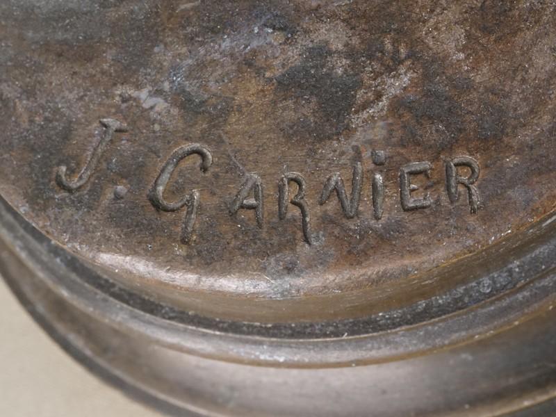 Скульптура «Фальстаф», бронза, литье, патинирование. Западная Европа, конец XIX века, высота 38см, автор J. Garnier