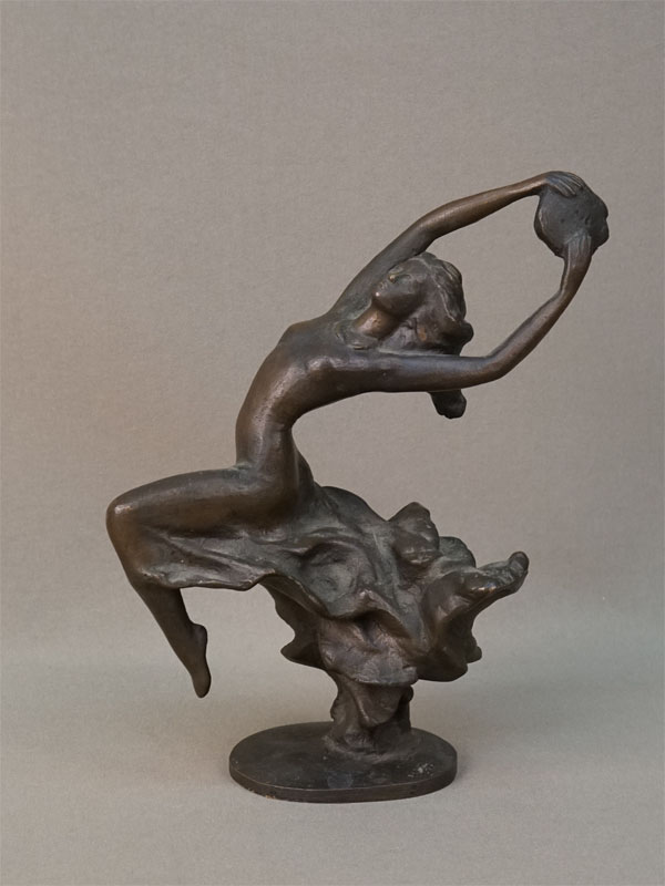 Скульптура «Кармен», бронза, 1970-80-е годы, высота 17см
