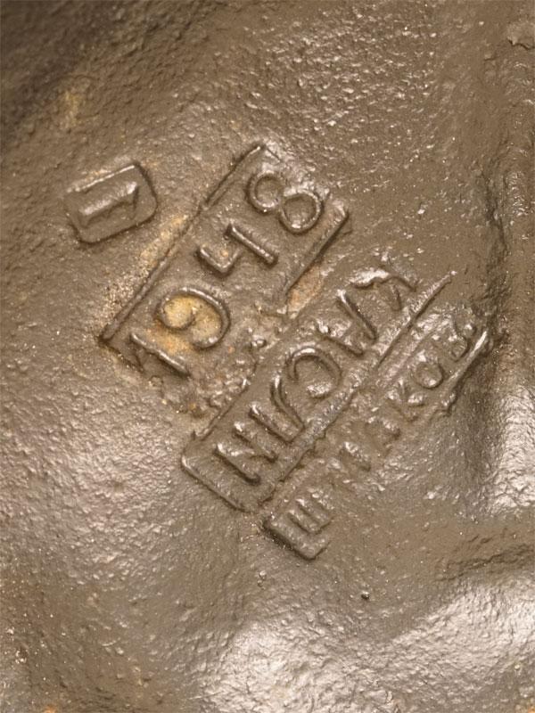 «Джигитовка лезгин», чугун, литье, покраска, высота 27см. Касли, 1948 год,  автор Е.А. Лансере