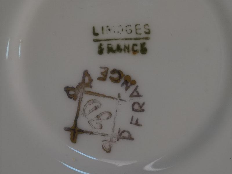 Кофейная пара, фарфор, роспись, золочение. Франция, Лимож, конец XIX  — начало XX века