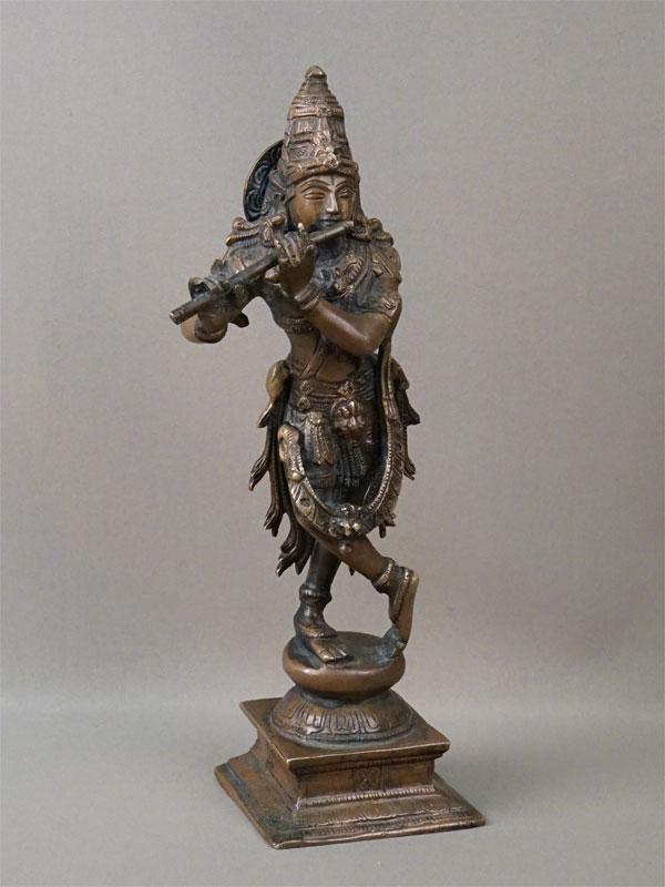 Скульптура «Шива с флейтой», бронза, XX век, высота 20см