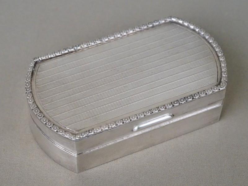 Шкатулка, серебро по реактиву, общий вес 232,02г., 12,5 × 7,5 × 3см