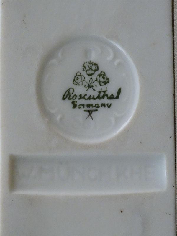 Скульптура «Белый олененок», фарфор, роспись. Германия, Rosenthal, 1920-е годы, высота 13см
