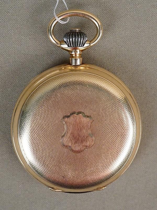 Часы карманные, золото 56 пробы, общий вес 96,84г.