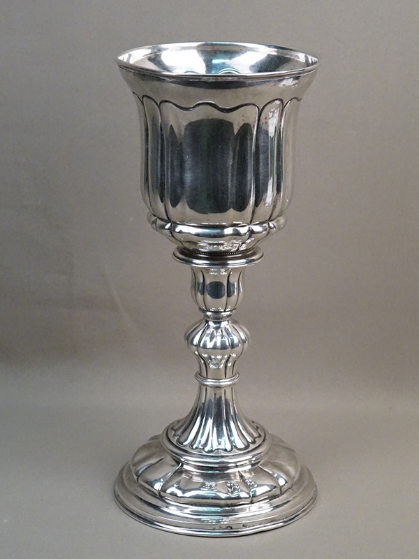 Кубок, серебро по реактиву, общий вес 464г., высота 29см. Скандинавия, конец XIX – начало XX века